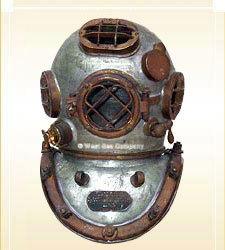 Divers Helmet Mark V Iron