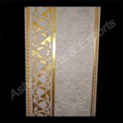 Marble Panel With Gold Work
