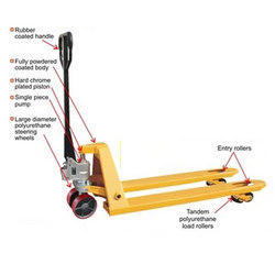 New Generation Hand Pallet Trucks