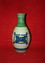 blue pottery small flower pot