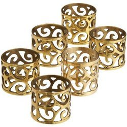 Scroll Napkin Rings