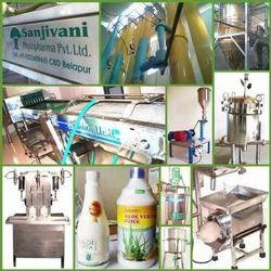Aloe Vera Powder Manufacturing Machinery