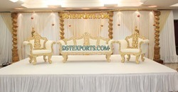 Beautiful Wedding Stage Furniture Set