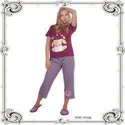 Knitted Pajama Night Wears