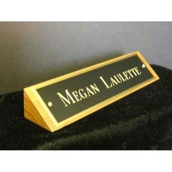 Table Name Plates