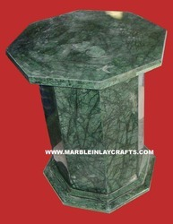 Green Marble Table Bases