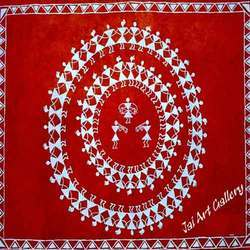 Design Circle Warli Paintings