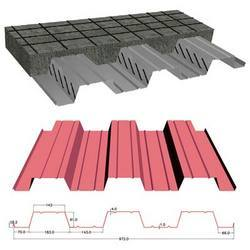 GI & CR Decking Sheet