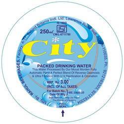 Packaged Drinking Water Seal Films
