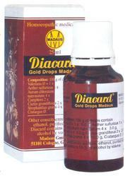 Imported Homeopathic Medicine - Diacard Gold Drops