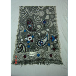 Woolen Jamarwar Boiled Shawl