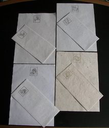 Handmade Paper Stationery Set
