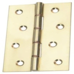 Light Brass Butt Hinge