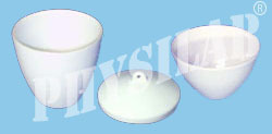 crucible micro porcelain