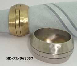 Hammered Napkin Ring