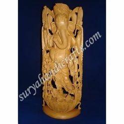 Wooden Ganesha With Sandalwood