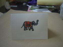 Ethnic Indian Design Printed Handmade Paper Stationery Sets