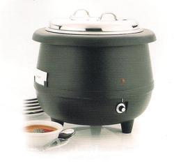 electric soup warmer with ss lid