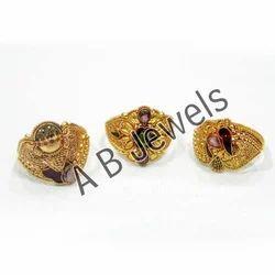 AGR 06 Gold Rings