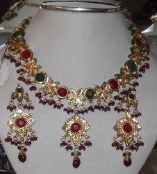 Kundan Necklace Full