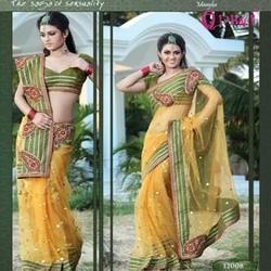 Net Based Saree
