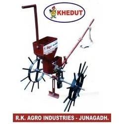 Manually Operated Seed Drill for Cotton