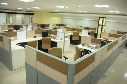 Work Area Stations Office Interior Designing Services Service