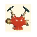 Hydrant Valve (Double Headed Gun Metal)