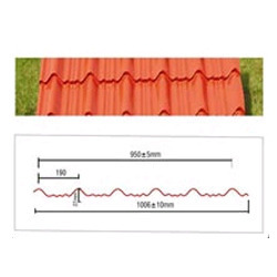 Clay Tile Profile Panel