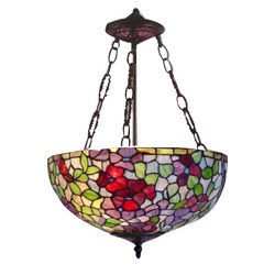 Stained+Glass+Hanging+Lamps
