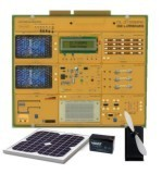 system for the study of photovoltaic solar energy