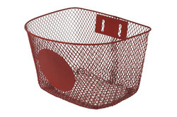 Plastic Coated Steel Bicycle Basket