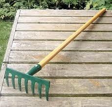 garden rack. Garden Rake Rack O