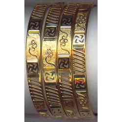 Jali Work Plain Bangles