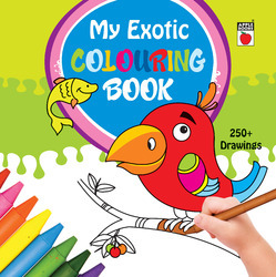 My Exotic Coloring Book