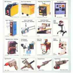 Welding Machines and Power Tools