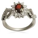Silver Fashion Crystal Ring Fashion 925 Silver Ring