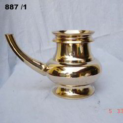 Aesthetic Brass Pooja Kindi