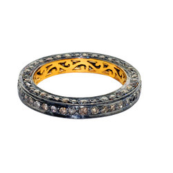 14k Gold Pave Diamond Rings