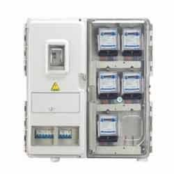 electric meter box three phase