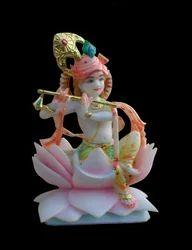 Marble Krishna Statue - Ka-2070