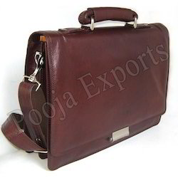 Leather Documents Files Bag ( Product Code: YH63)