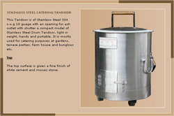 Stainless Steel Catering Tandoor