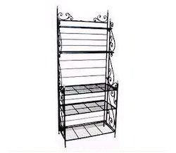 wrought iron book rack