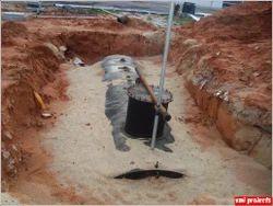 Underground Diesel Storage Tank