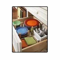 Modular Kitchen Sliding Drawers