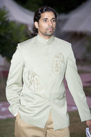 Mens Designer Woven Coat