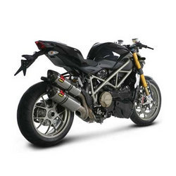 Akrapovic Exhaust For Ducati Streetfighter.