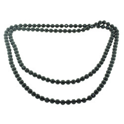 Gemstone Black Onyx Beads Necklace