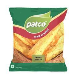 Green Chilli Papad